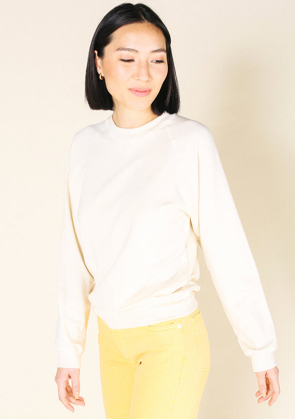 Agnes Raglan Organic Cotton + Tencel Sweatshirt