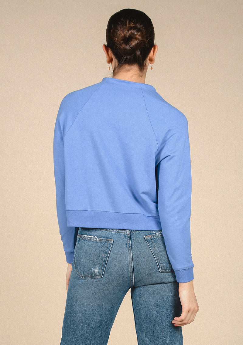 Wilder Mock Neck Sweatshirt - French Terry + Bamboo