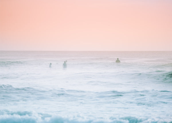 Pastel Swimmers