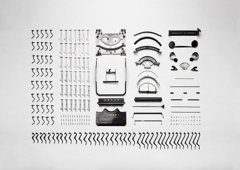 Typewriter Exploded View