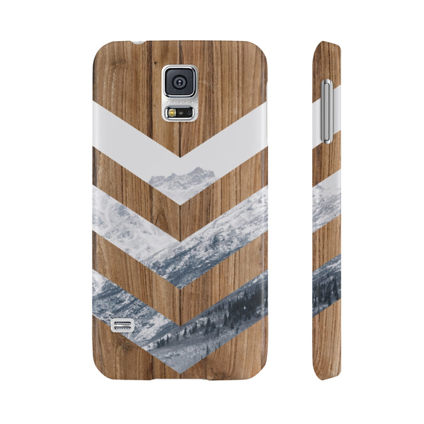 Snow Mountain Wood Slim