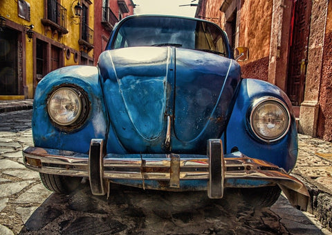 Vintage Beetle in Mexico