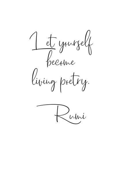 Rumi Living Poetry