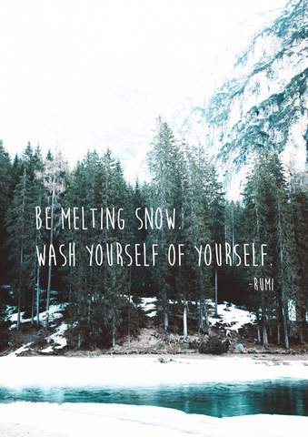 Rumi Melting Snow