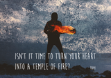 Rumi Temple of Fire