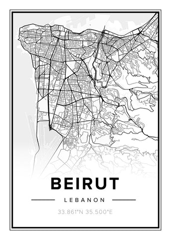 Map Beirut