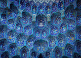 Blue Mosque Pattern