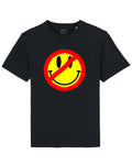 PANDAAAMN SMILE Black Tee