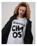 (SOLD OYUT) BEAUTIFUL CHAOS White Tee