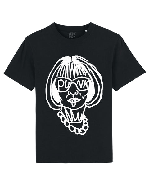 (SALE) ANNA WINTOURPUNK Black tee