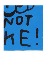 (SALE!) ART IS NOT A JOKE canvas artwork