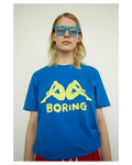 BORING Rich-Blue Tee
