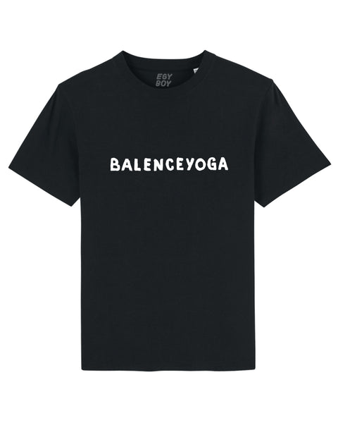(SOLD OUT) B-YOGA Black Tee