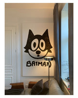 (SOLD) BATMAN Canvas Art