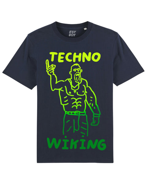 TECHNO WIKING Premium Navy Tee