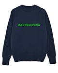 (SOLD OUT) B-YOGA NAVY/Green Sweater