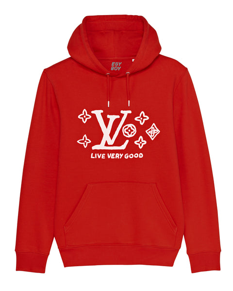 (SOLD OUT) LVgood RED Hoodie