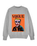 (-50%) VOGUING Grey Sweater