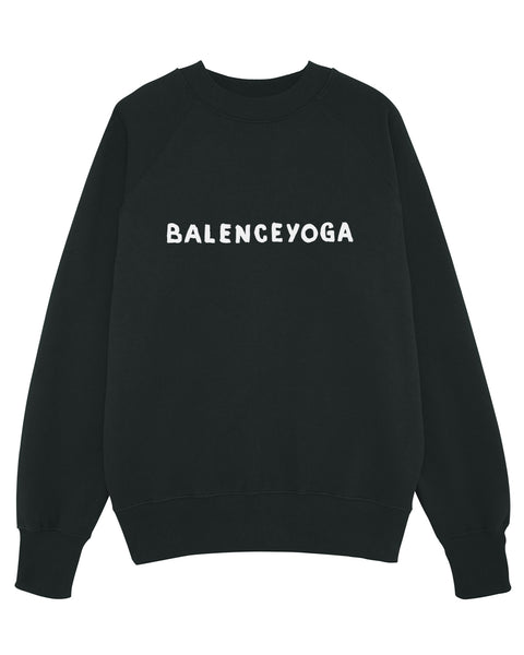 B-YOGA Black Sweater
