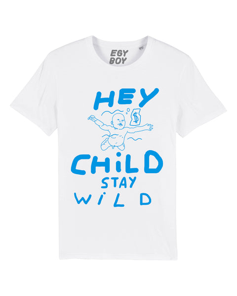 HEY CHILD / White Tee