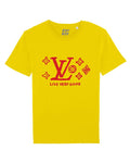 LIVE VERY GOOD Yellow/Red print tee