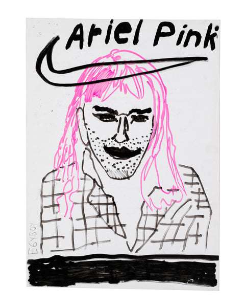 ORIGINAL-1-ARTWORK 'ARIEL PINK' by Egyboy