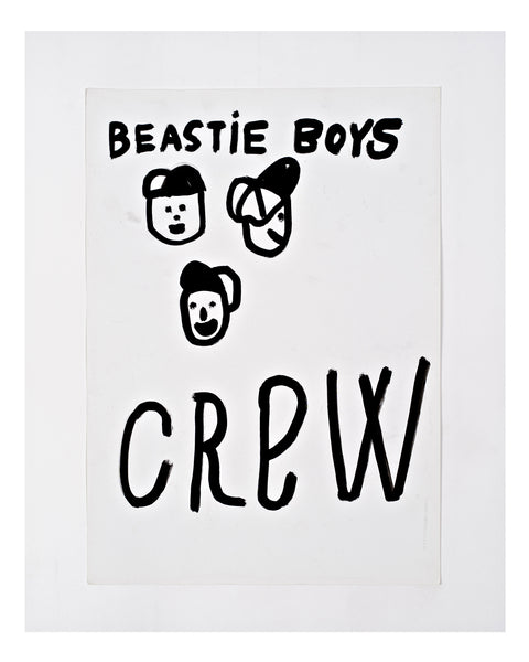 BEASTIE BOYS CREW original artwork