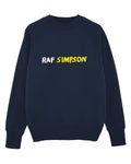 (LAST ONE) RAF SIMPSON Navy sweater