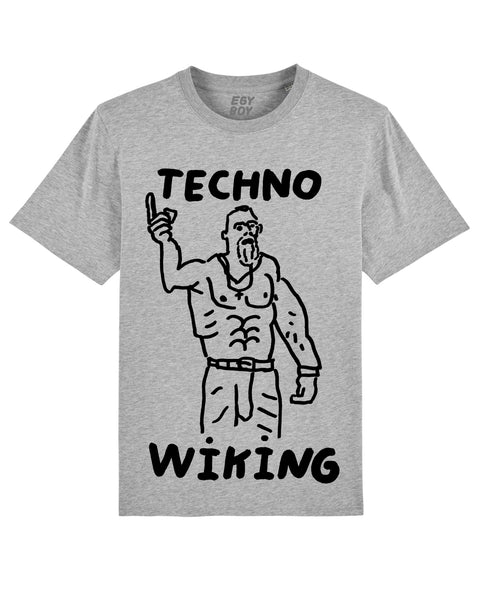 TECHNO WIKING Premium Grey Tee