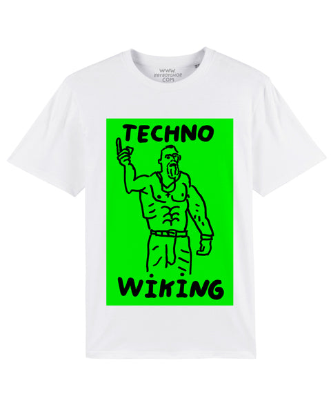 LAST ONES (-30%) TECHNO WIKING White tee