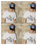 (SOLD OUT) THIS IS ART BUDDIES White Tee