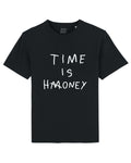 TIME IS HONEY Black/White print tee