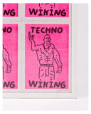 (SOLD) TECHNO WIKING - ART HARD Original artwork