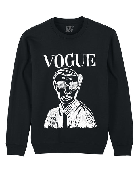 VOGUE CLASSIC Black sweater