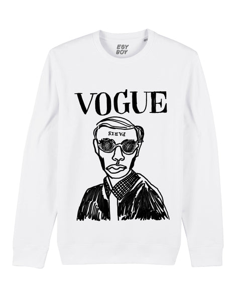(SALE) VOGUE CLASSIC White sweater