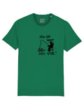YOU GET WHAT YOU GIVE (GUCCI) Green tee