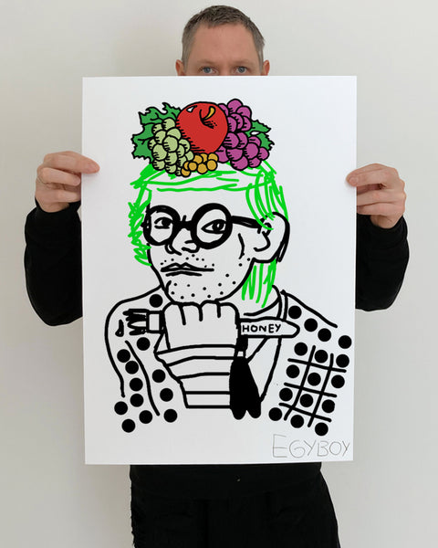 FRUITS OF THE HOCKNEY ART PRINT