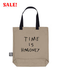 (SALE) TIME IS HONEY Large Beige Bag