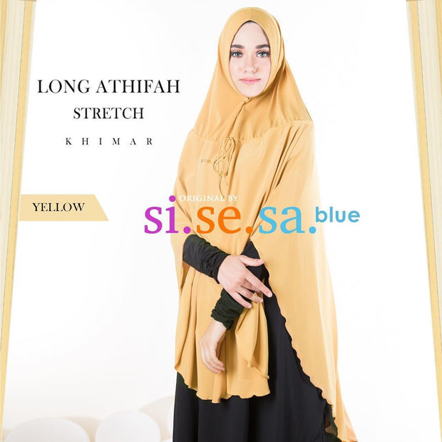 Sisesa Long Athifah Stretch Khimar
