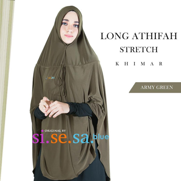 Long Athifah Stretch Khimar