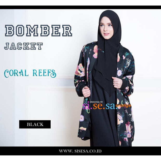 Bomber Jacket Coral Reef
