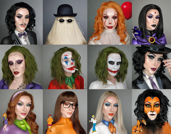 '31 Days of Halloween' - Halloween makeup  looks