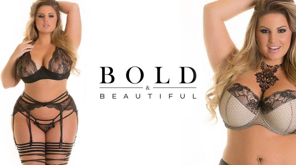 Plus size lingeri kollektion | Bold & Beautiful