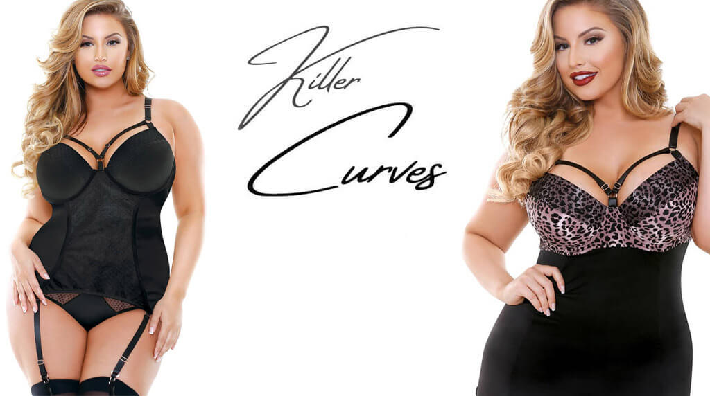 Plus size lingeri kollektion | Killer Curves