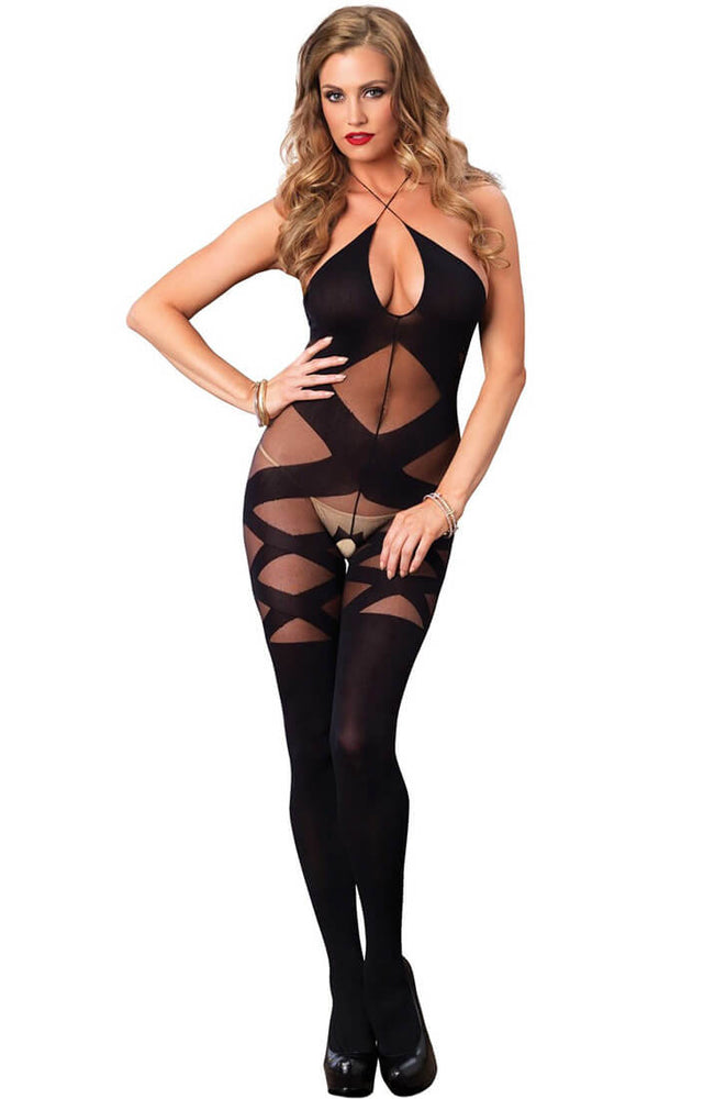 Bundløs bodystocking - With An Edge