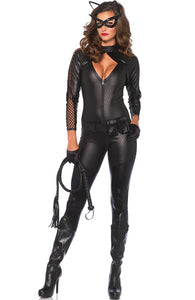 Catsuit Catwoman kostume - Deluxe Kitty Cat