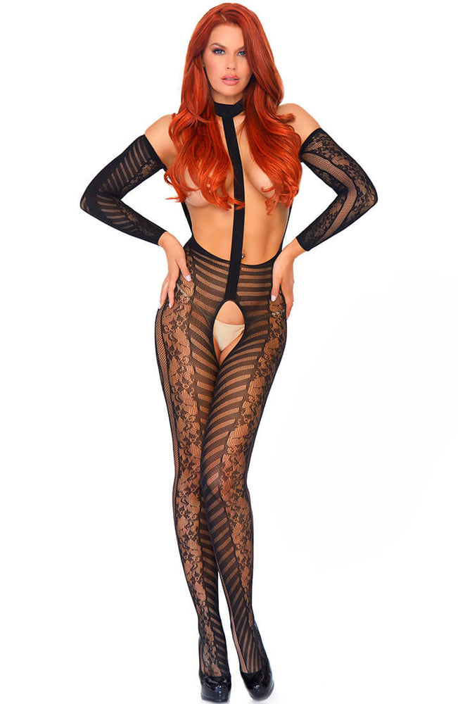 Bundløs harness catsuit - Hypnotized by Holly