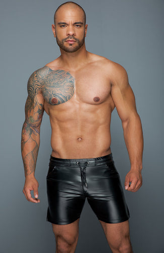 Wetlook tregging shorts - Authorized