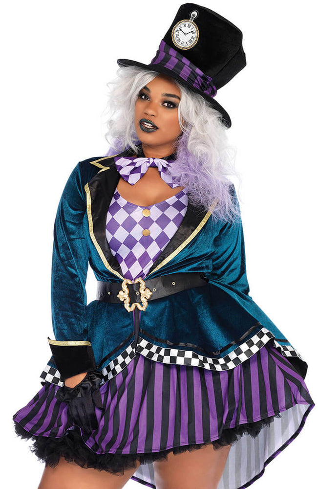 Plus Size Den gale hattemager kostume - I Am Mad Hatter