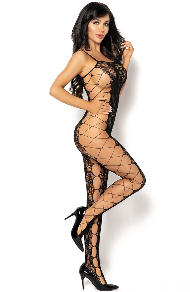 Sort net catsuit - Polly